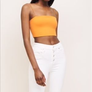 Dynamite tube top with bungee straps - NEVER WORN